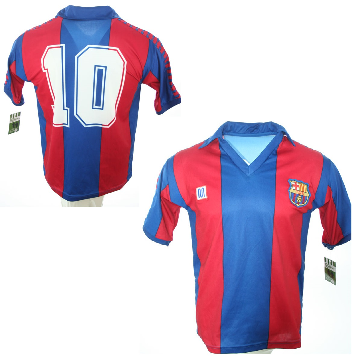 20ced11c8 Meyba FC Barcelona jersey 10 Diego Maradona 1982-84 home men s S M L ...