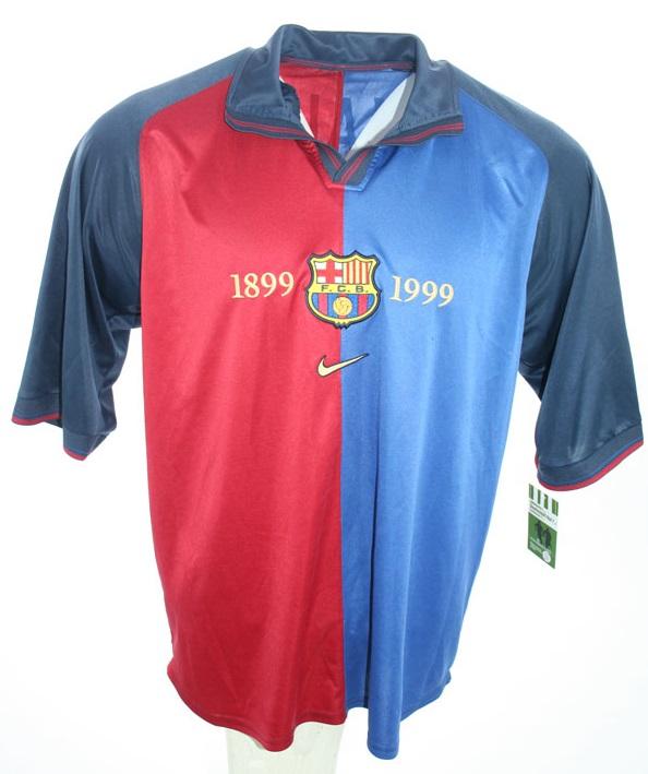 82af061ae Nike FC Barcelona Jersey 11 Rivaldo Home 1999 2000 home Blue Red men s M