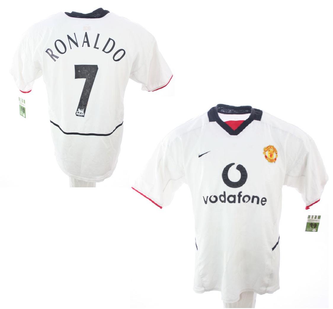 save off 0b292 2794e Nike Manchester United jersey 7 Cristiano Ronaldo 2003/04 ...