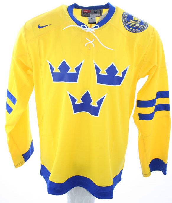 outlet store ba3c4 dab02 Nike Sweden Ice Hockey Jersey Olympic games NHL men's S/M/L ...