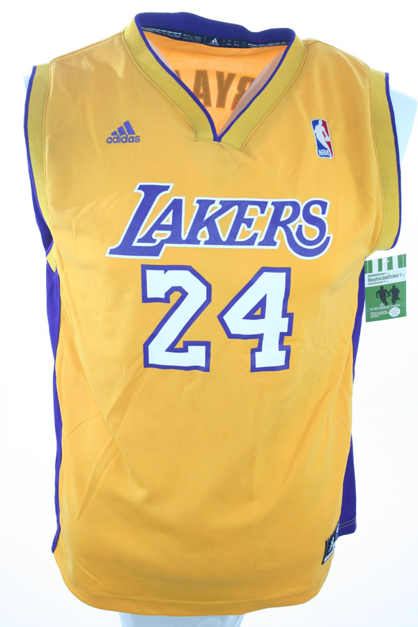 new product 726c8 546a9 Adidas Los Angeles L.A. Lakers Jersey 24 Kobe Bryant Home ...