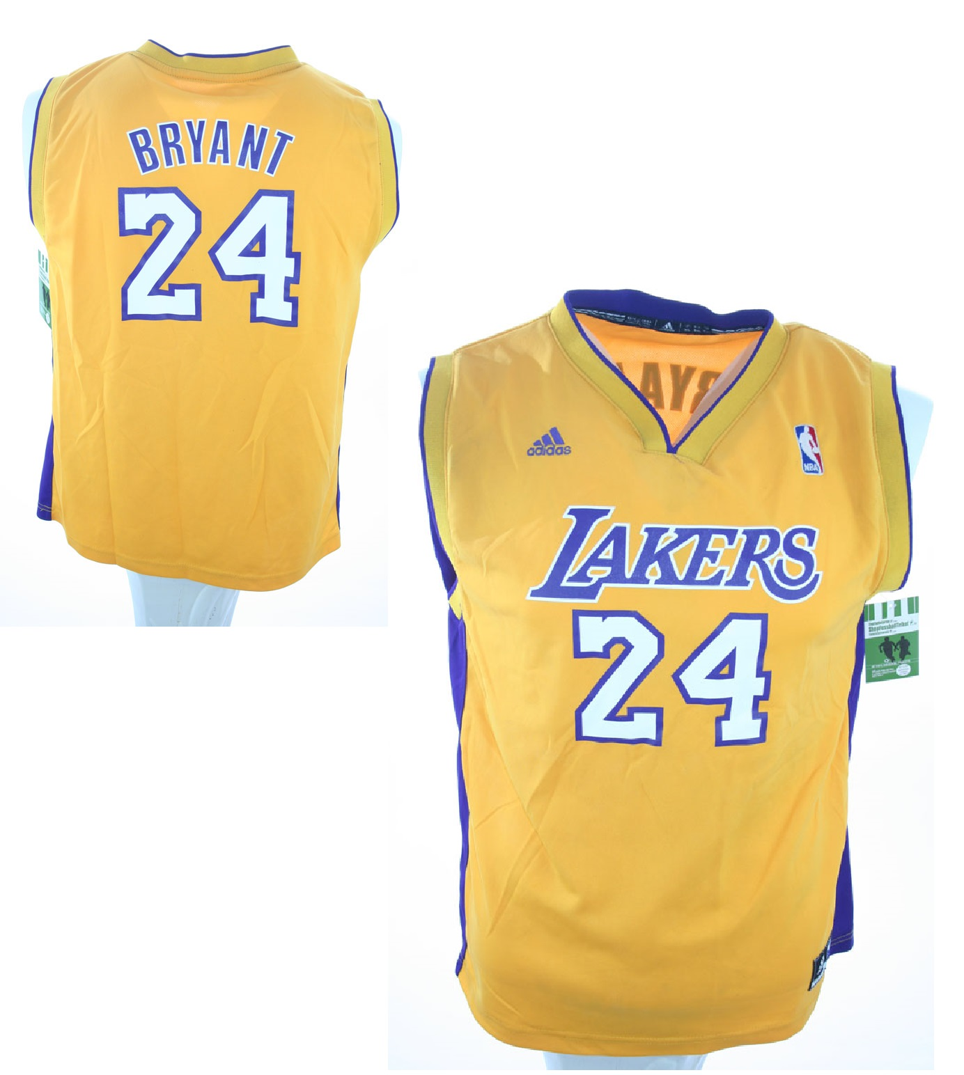 new product 37237 a0f90 Adidas Los Angeles L.A. Lakers Jersey 24 Kobe Bryant Home ...