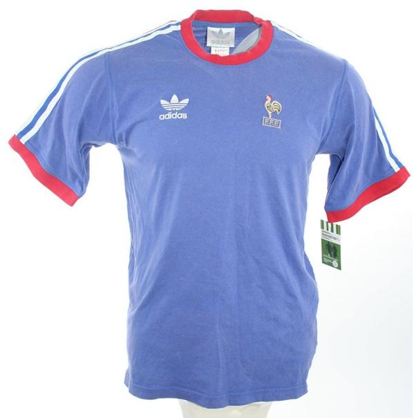 Copa Originals Euro Adidas Azul Del 1980 Mundo Francia 1978 Camiseta mwvnON80