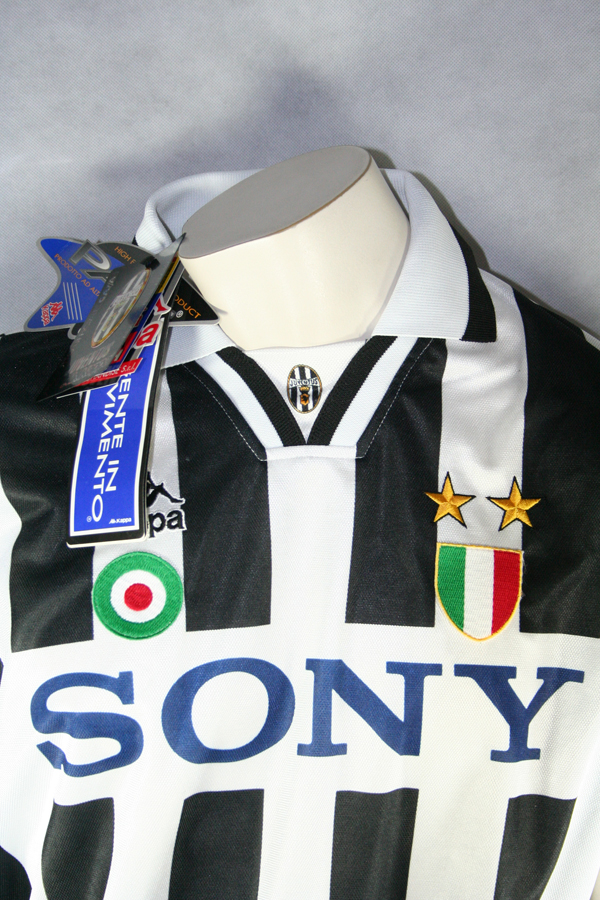 reputable site c2505 5aee7 Kappa Juventus Turin Jersey 10 Del Piero 1995/96 CL New Men ...