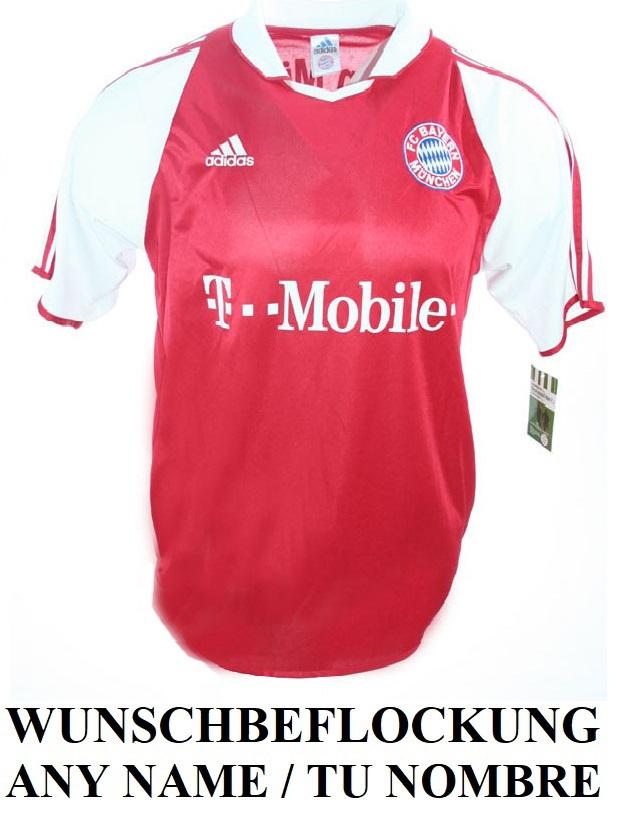 brand new 6b771 45a86 Adidas FC Bayern Munich München Jersey 2003/04 T-mobile ...