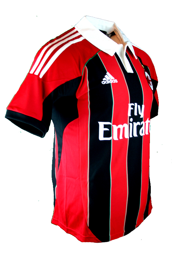 outlet store bd8c2 5969f Adidas AC Milan jersey 11 Zlatan Ibrahimovic 2012/13 CL home ...