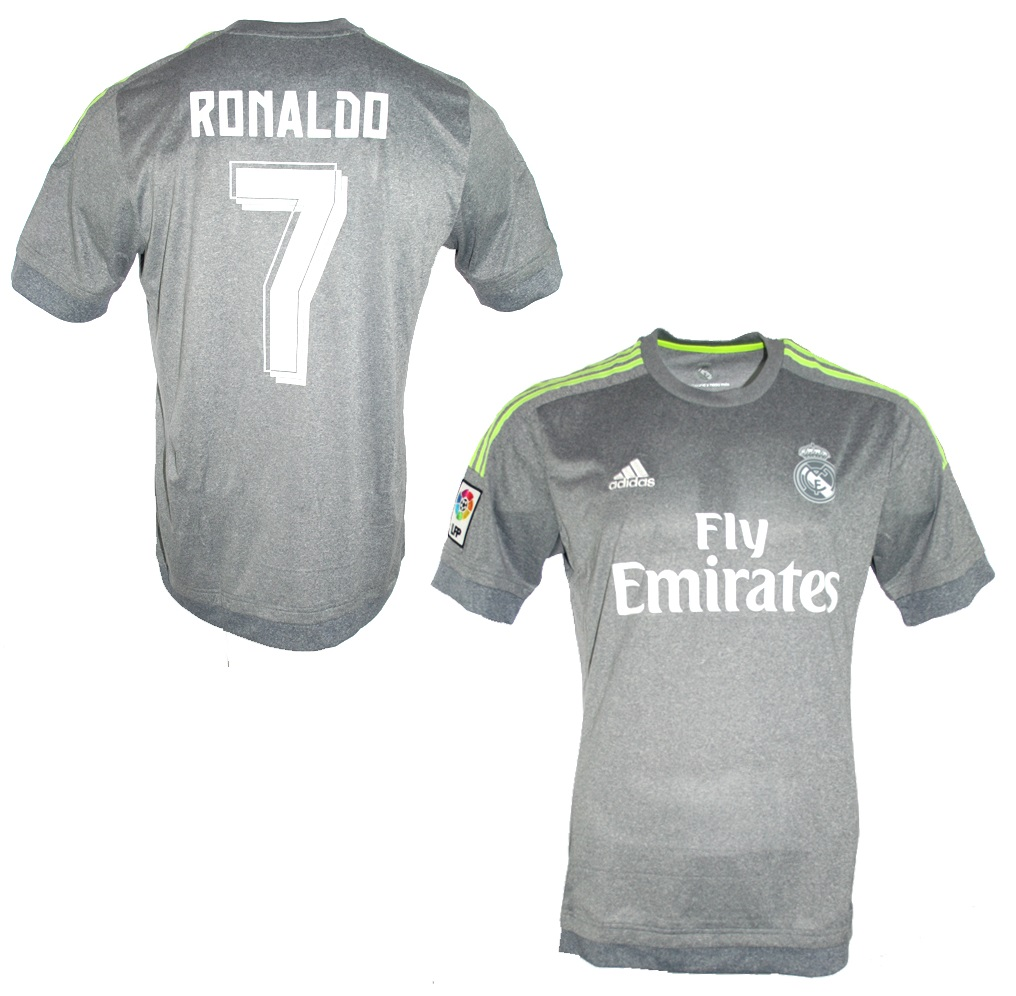 wholesale dealer 094e6 a360e Adidas Real Madrid jersey 7 Cristiano Ronaldo 2015/16 Away ...
