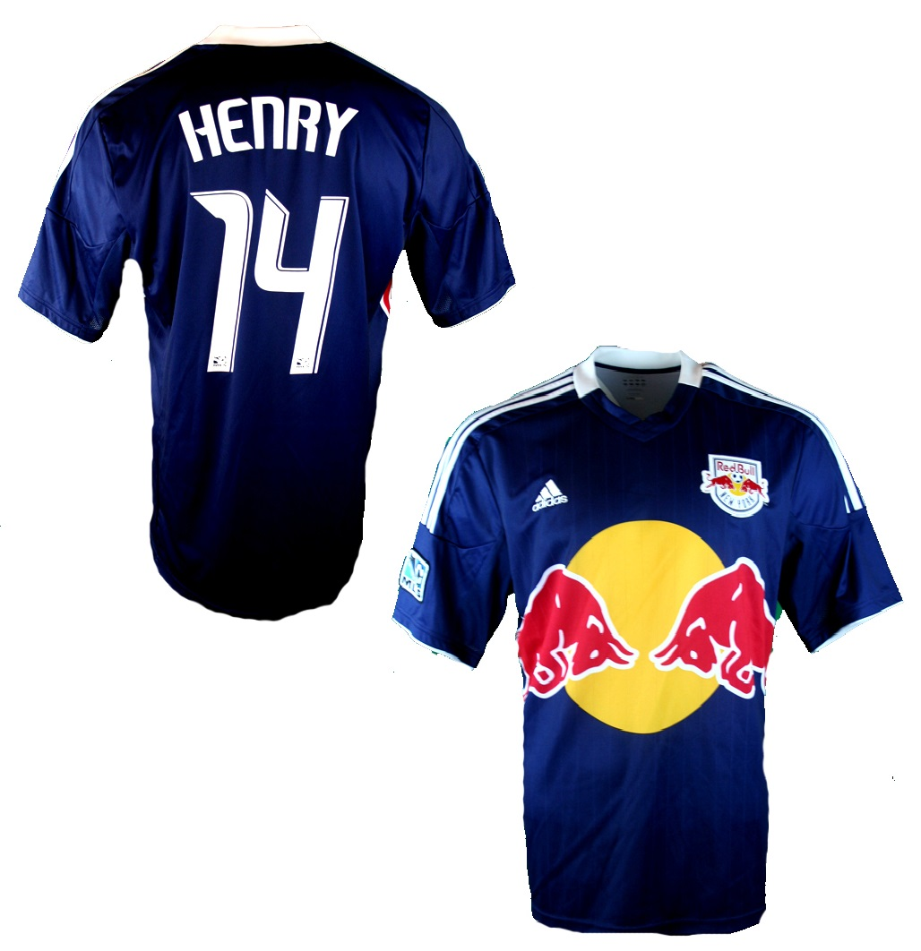 size 40 d3ad9 fed77 Adidas New York Red Bulls jersey 14 Thierry Henry 2012-2014 ...