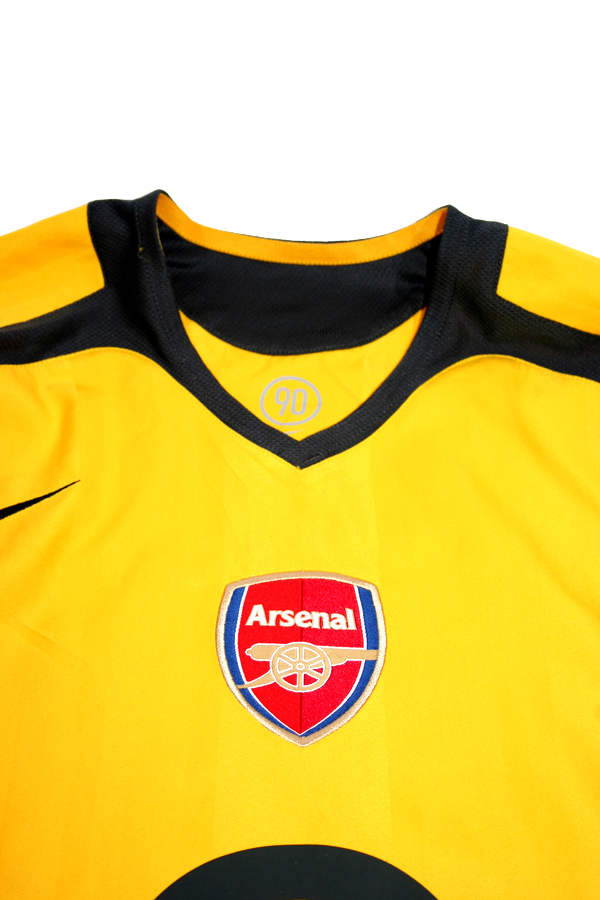competitive price f839f 805c1 Nike FC Arsenal jersey 14 Thiery Henry 2005/06 yellow CL ...