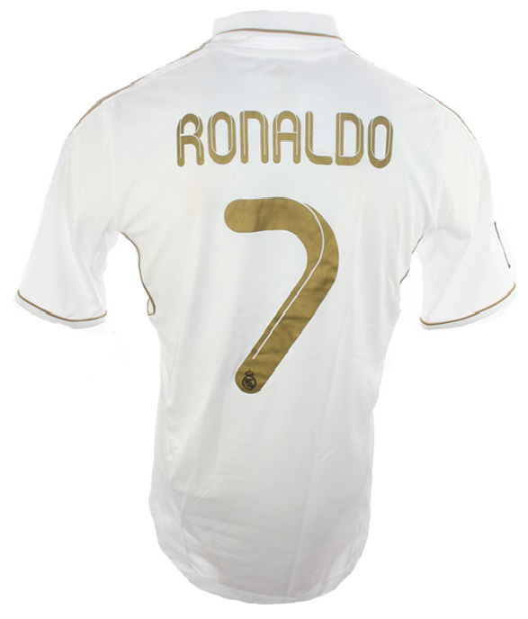 huge discount e6d59 22de3 Adidas Real Madrid Jersey 7 Cristiano Ronaldo CR7 2011/12 ...