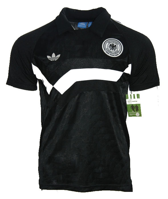 Dfb Adidas 1990 Germany Black Away Men's Originals T Xs Jersey Shirt thrCQdxBs