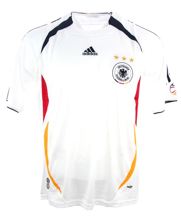 competitive price 846d9 a6285 Adidas Deutschland Trikot WM 2006 Heim Klose Schneider & Co ...