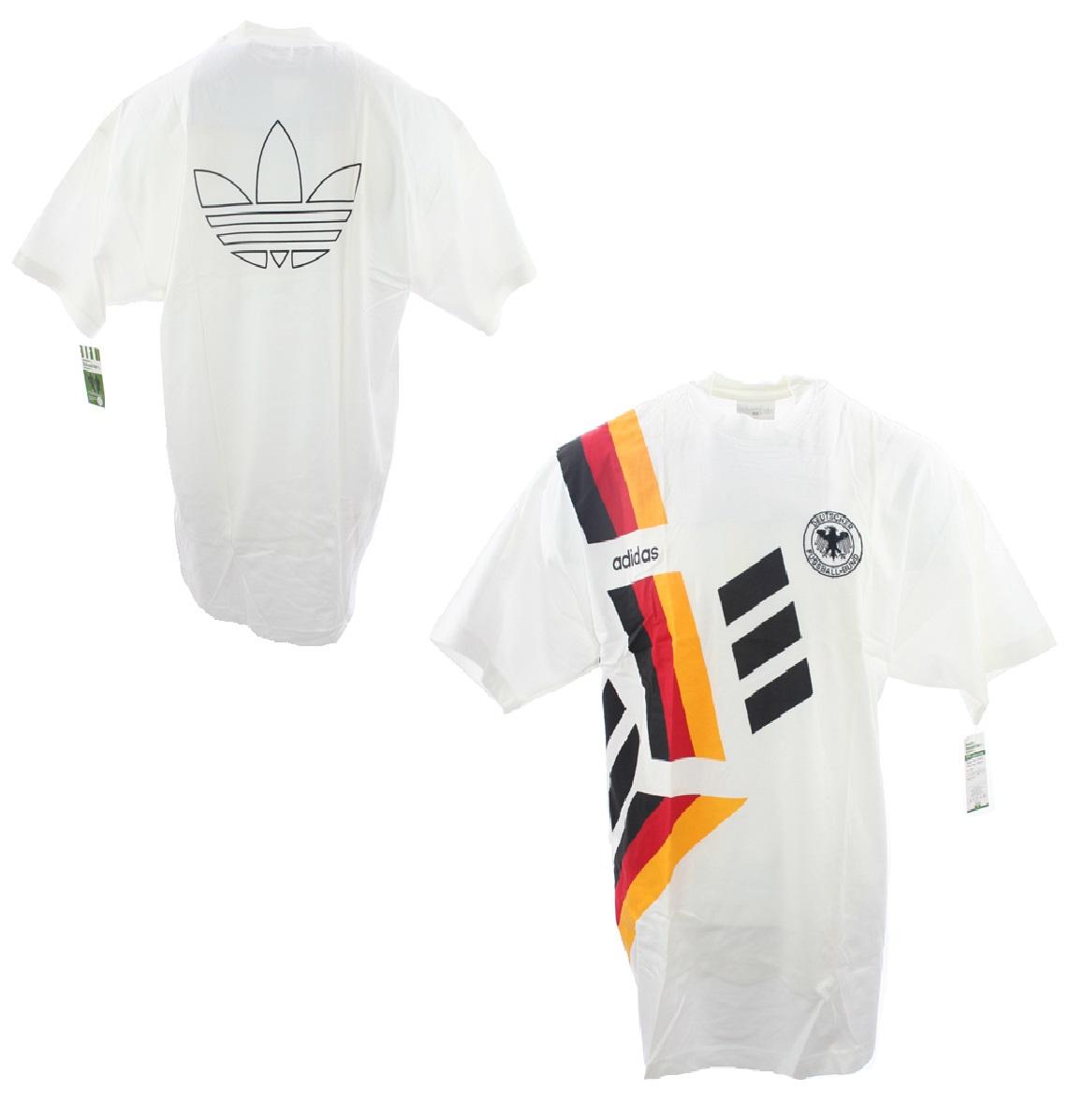 adidas deutschland t shirt 1994 dfb 94 trikot retro herren. Black Bedroom Furniture Sets. Home Design Ideas