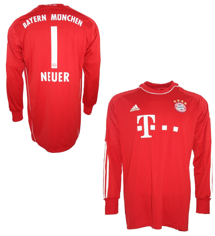 7f5394549bcb40 Adidas FC Bayern München Torwart Trikot 1 Manuel Neuer 2013 14 Herren S-M  176cm oder XL