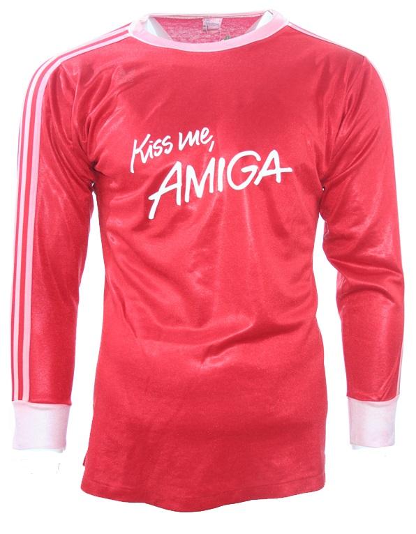 51286d2ec Adidas FC Bayern Múnich Camiseta 1988 89 Kiss me Amiga Senor S M L ...