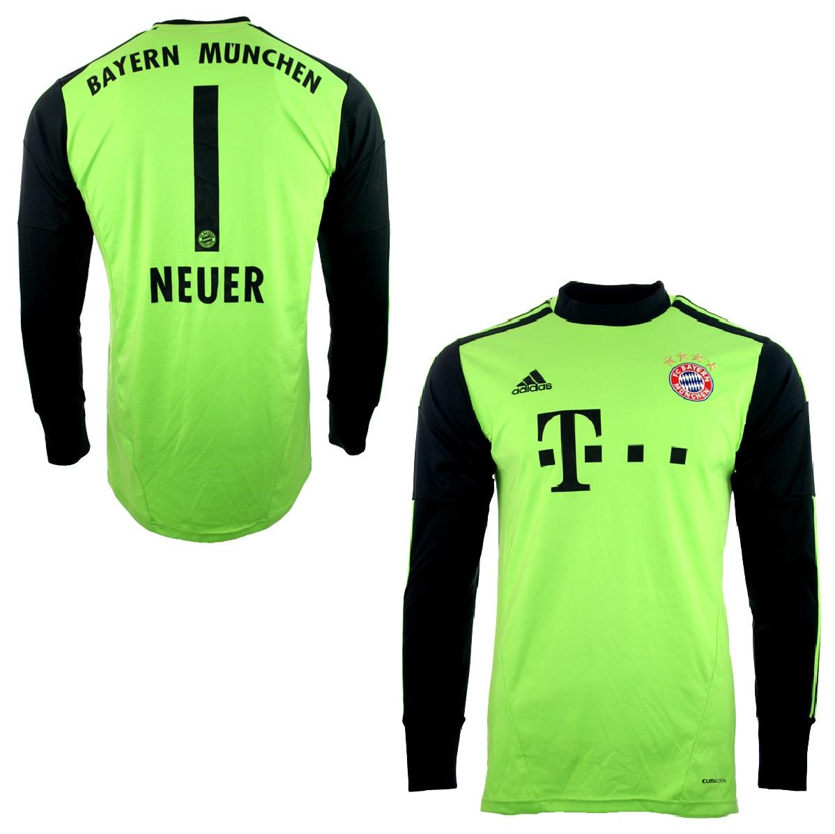 97cc789b2db84a Adidas FC Bayern München Torwart Trikot 1 Manuel Neuer 2012 13 Triple  Herren M oder XL