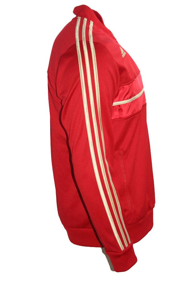 Adidas FC Bayern München jacke Trainingsjacke rot Heim
