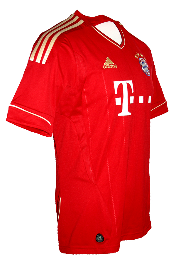 huge selection of 87194 2a7f7 Adidas FC Bayern Munich jersey 2011/2012/2013 CL home men's ...