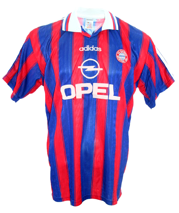 Adidas FC Bayern München Trikot + Hose 1995 97 Opel Herren S