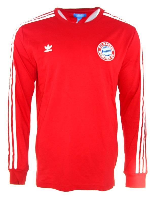 e76f7ecd297dcc Adidas FC Bayern Munich jersey 1975 76 without sponsor men