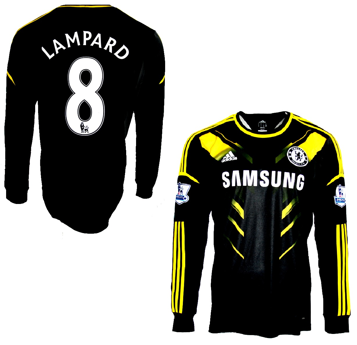 cheap for discount 49d56 80675 Adidas FC Chelsea jersey 8 Frank Lampard 2012/13 match worn ...
