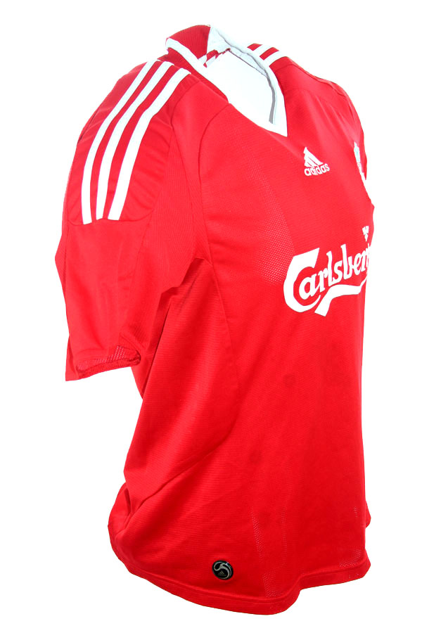 7cda6d99c Adidas FC Liverpool jersey 8 Steven Gerrard 2008-10 This is anfield home  red men s