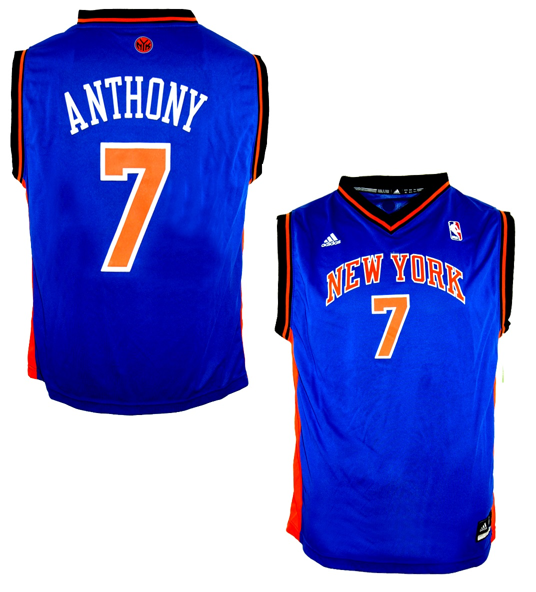 save off 2807b d7b45 Adidas New York Knicks jersey Home NBA 7 Carmelo Anthony ...
