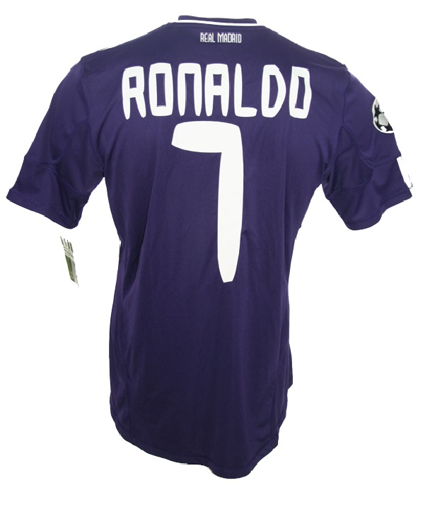 quality design 341f9 2ca11 Adidas Real Madrid Jersey 7 Cristiano Ronaldo 2010/11 Bwin ...