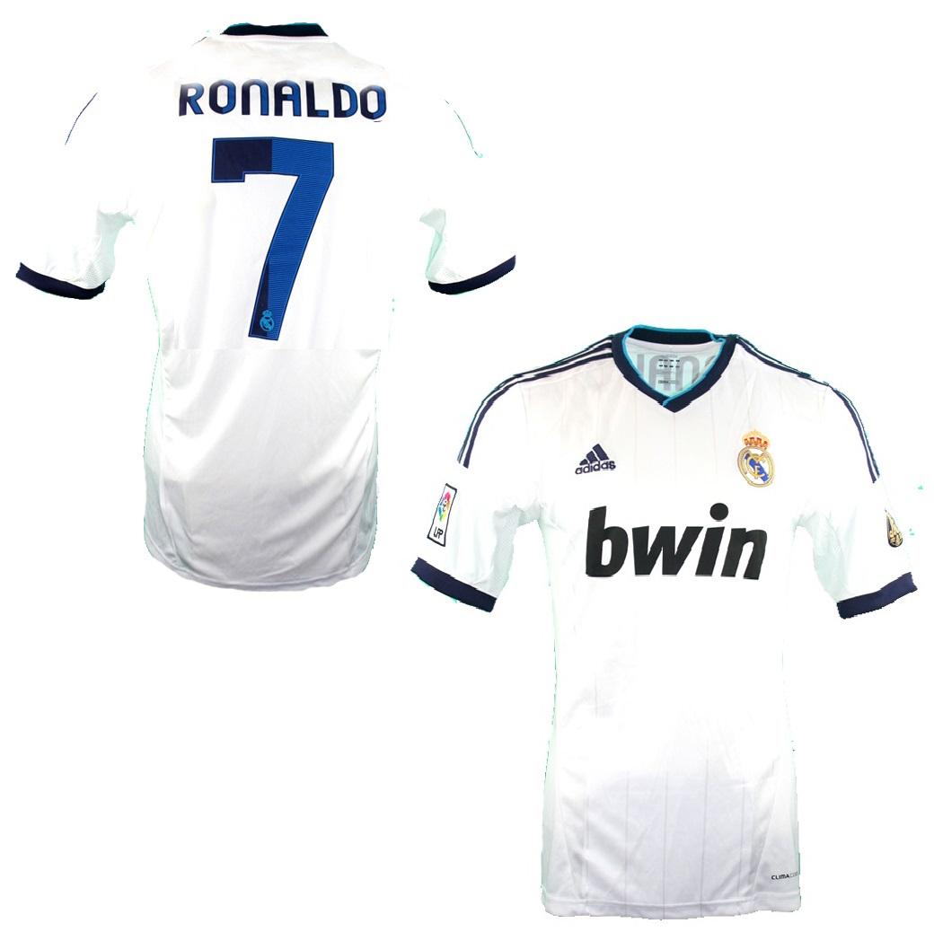 66aba5578 Adidas Real Madrid Trikot 7 Cristiano Ronaldo 2012 13 NEU bwin Herren L