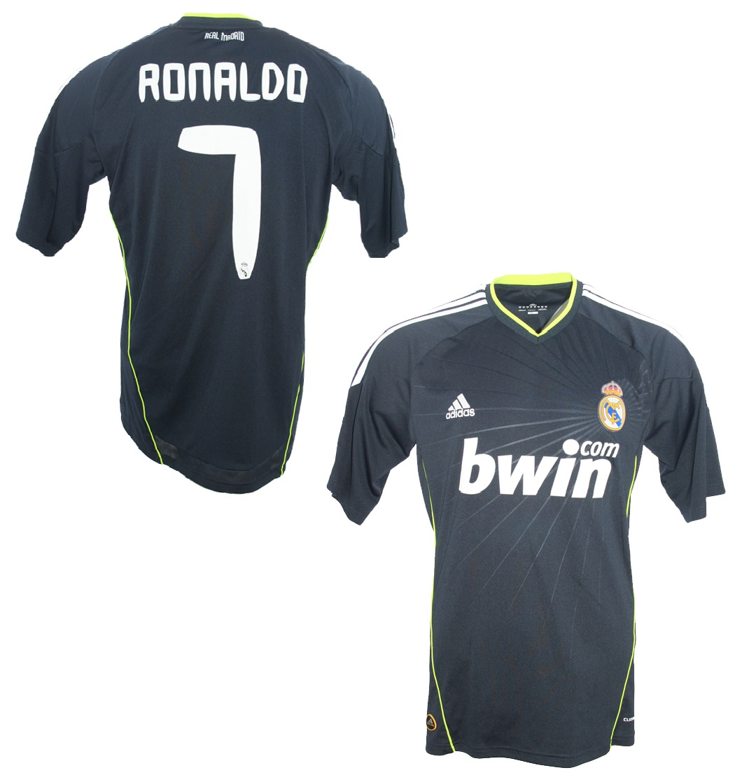 Adidas Real Madrid Trikot 7 Cristiano Ronaldo 201011 Bwin Away