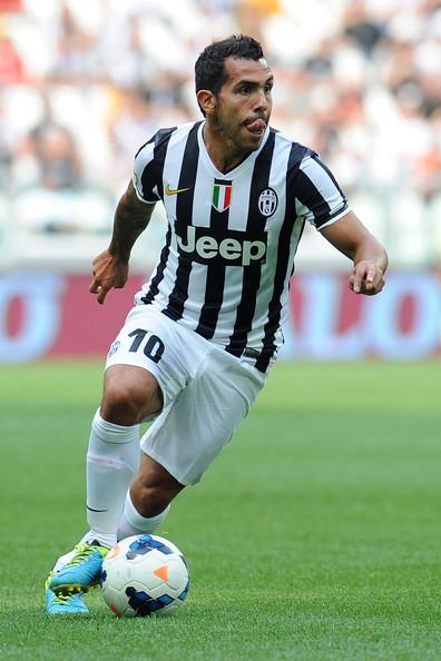 reputable site 8f754 e678e Nike Juventus Turin jersey 10 Carlos Tevez 2013-14 Jeep CL ...