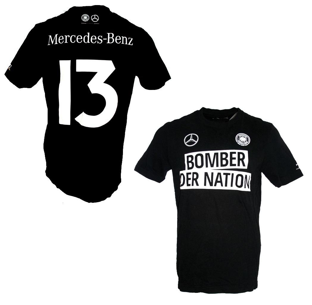 buy online c7908 2a952 DFB Germany T-shirt Gerd Müller black
