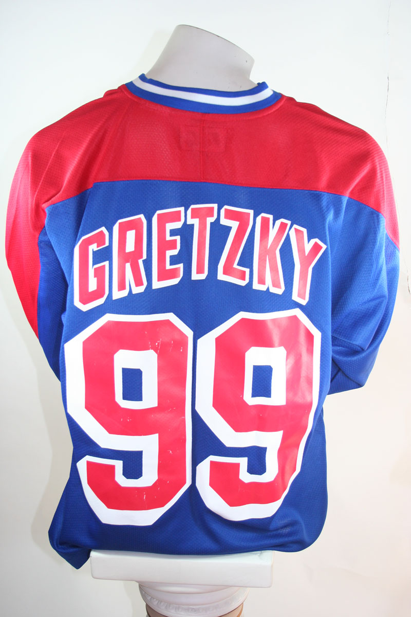 brand new cb78a aed77 New York Rangers jersey NHL 99 Wayne Gretzky Starter L