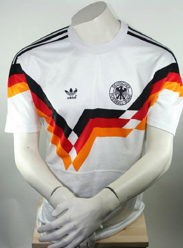 adidas deutschland trikot 1990