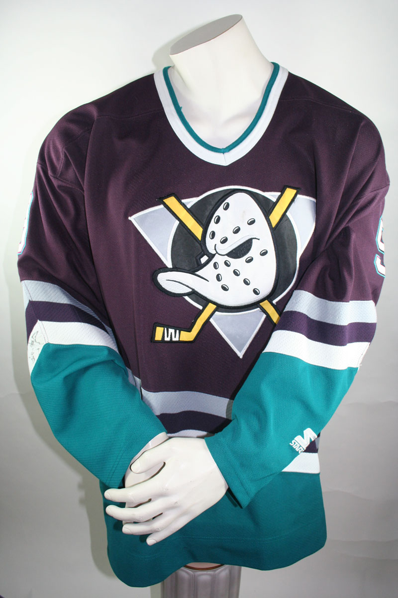 new york b137b 448ab Starter Anaheim Mighty Ducks jersey 9 Paul Kariya NHL Walt ...