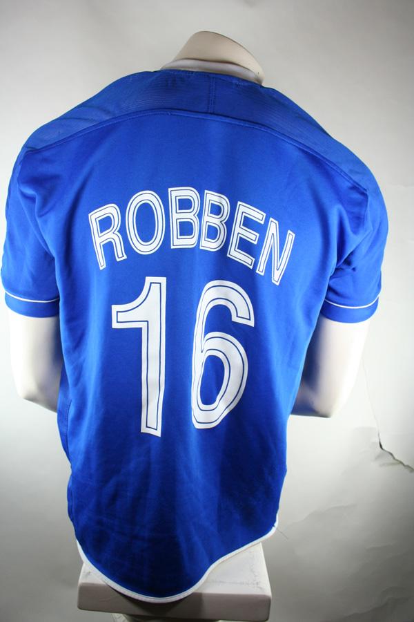 newest 6193b 774cd Umbro FC Chelsea London jersey 16 Arjen Robben 2004/2005 ...