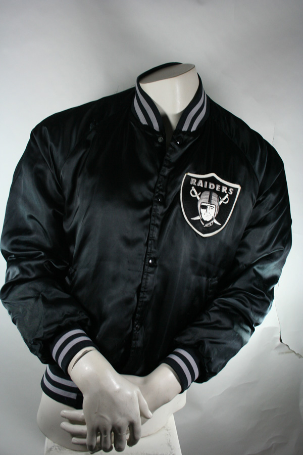 lowest price b6bc0 13c34 Chalk Line Los Angeles Raiders College Jacket jersey black ...