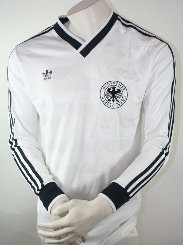 adidas deutschland trikot wm 1986 dfb herren xs 1 2. Black Bedroom Furniture Sets. Home Design Ideas