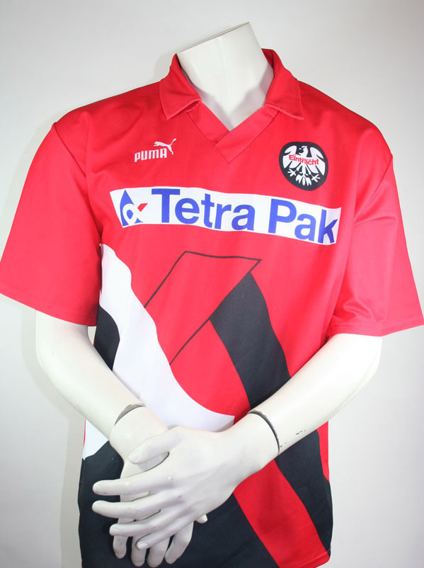 puma eintracht frankfurt trikot 1993 94 tetra pak kurzarm. Black Bedroom Furniture Sets. Home Design Ideas