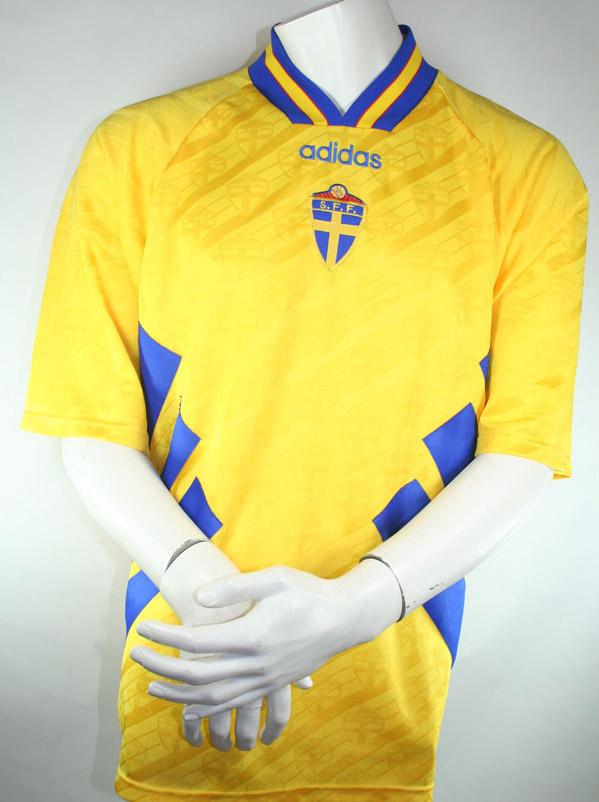 5e6942d230a Adidas sweden jersey 4 Joachim Björklund 1994 World cup USA men's S/M/L