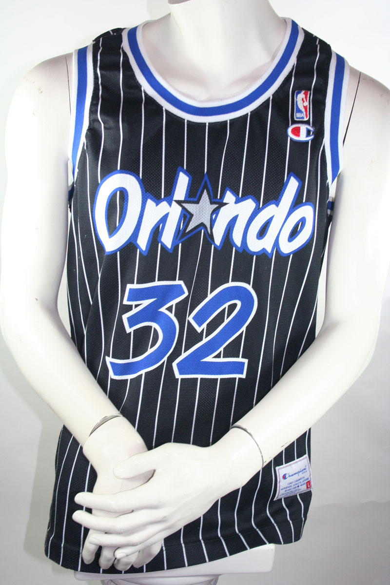 reputable site 79b13 9659c Champion Orlando Magic jersey 32 Shaquille O'Neal NBA ...