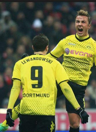 online store 542bf 47496 Kappa Borussia Dortmund jersey 9 Robert Lewandowski 2011 ...