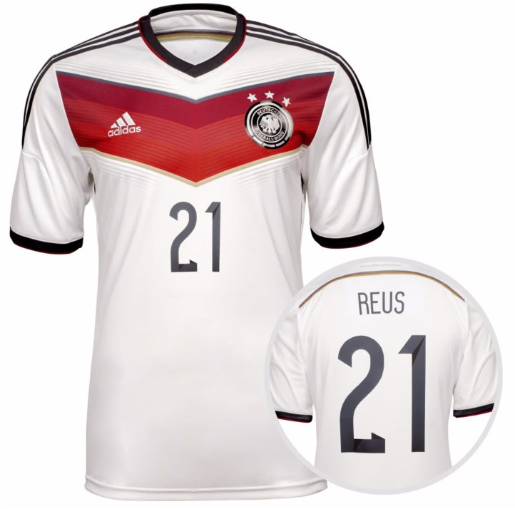 adidas deutschland trikot 21 marco reus 2014 dfb herren xs. Black Bedroom Furniture Sets. Home Design Ideas