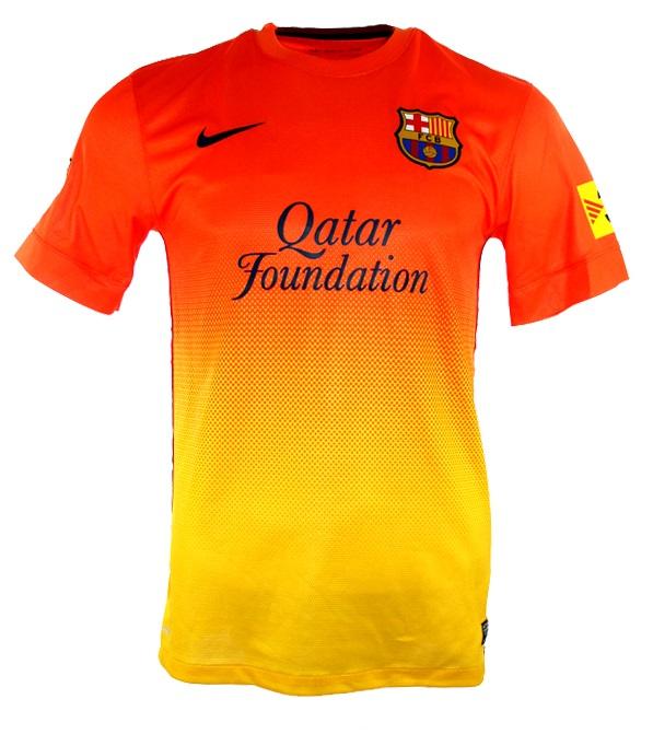 newest 2fd41 bec86 Nike FC Barcelona jersey 10 Lionel Messi 2012/13 Qatar men's ...