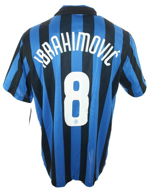 the latest 679b2 d8b94 Nike Inter Milan jersey 8 Zlatan Ibrahimovic 2008/09 home ...