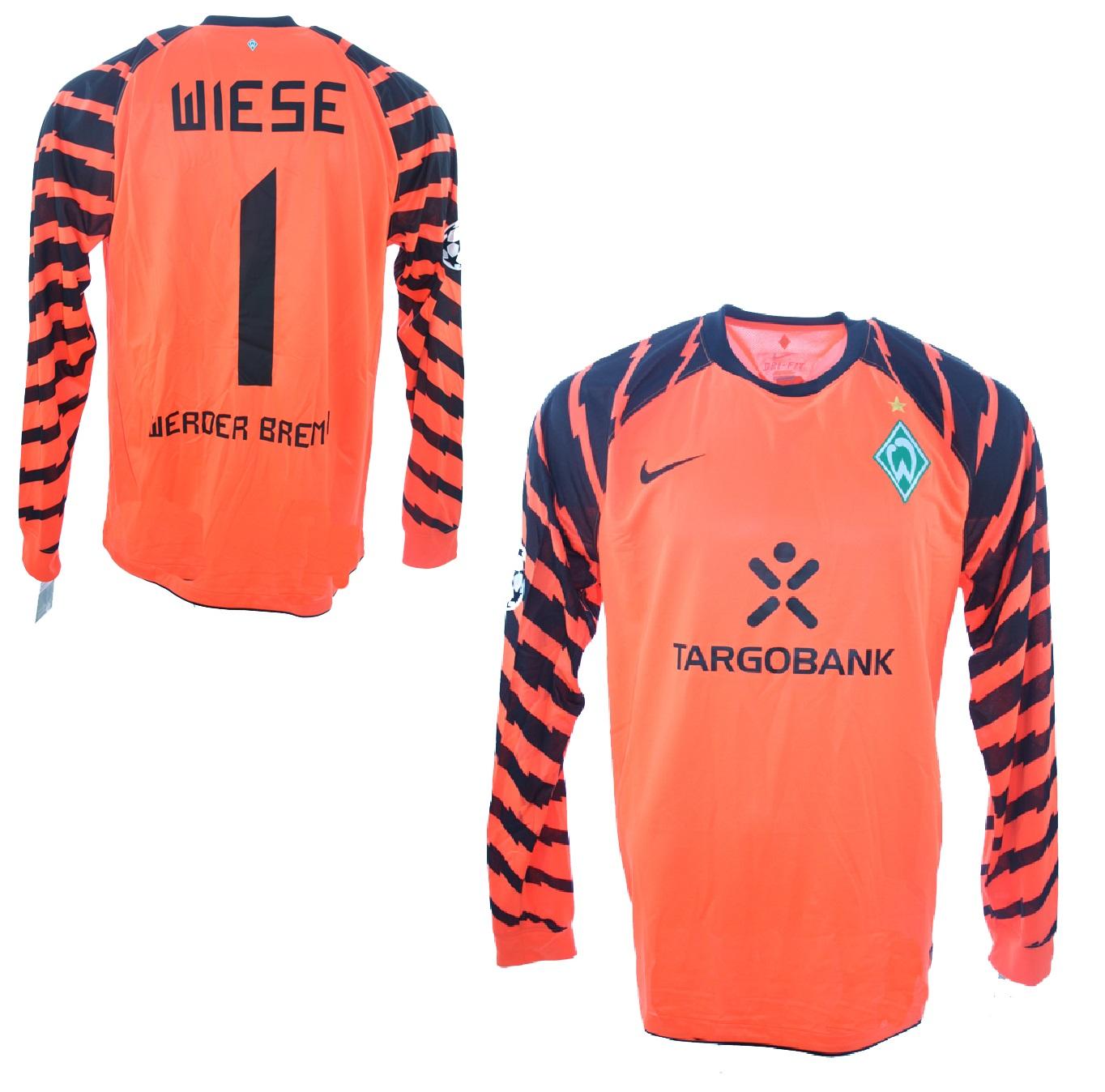 Saison 11/12 Gr SV Werder Bremen Original Trikot XL TargoBank Selten