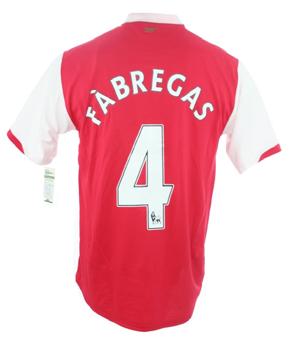 d1c64e2af Nike FC Arsenal London jersey 4 Cesc Fabregas 2006-2008 Gunners men s L
