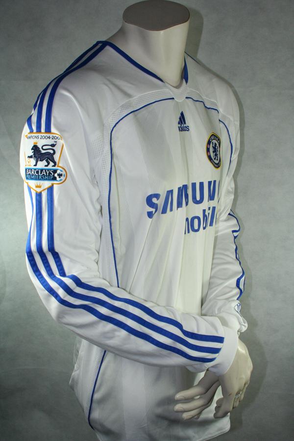 new product 0cf47 49e09 Adidas FC Chelsea Jersey 13 Michael Ballack 2006/07 ...