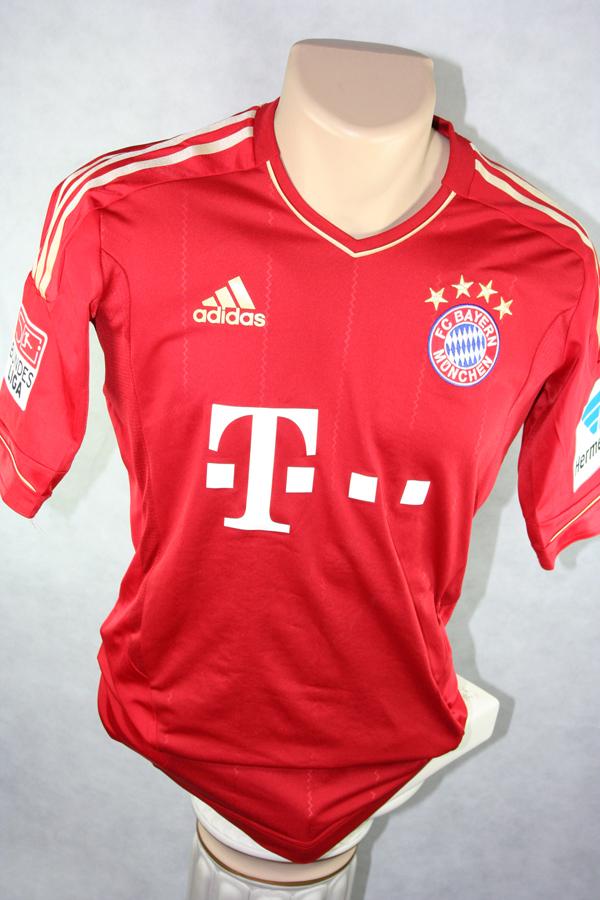 the best attitude 7c122 ba469 Adidas FC Bayern Munich jersey 7 Franck Ribéry 2012/13 Match ...