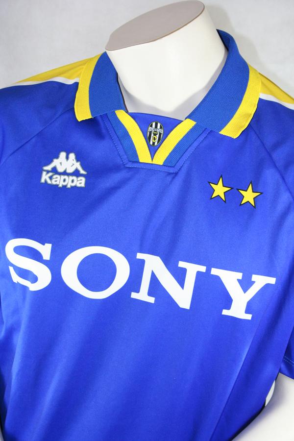 374a3277f Kappa Juventus Turin Jersey 21 Zinédine Zidane 1997 98 blue XL buy ...